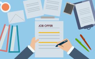 How do you evaluate a job offer