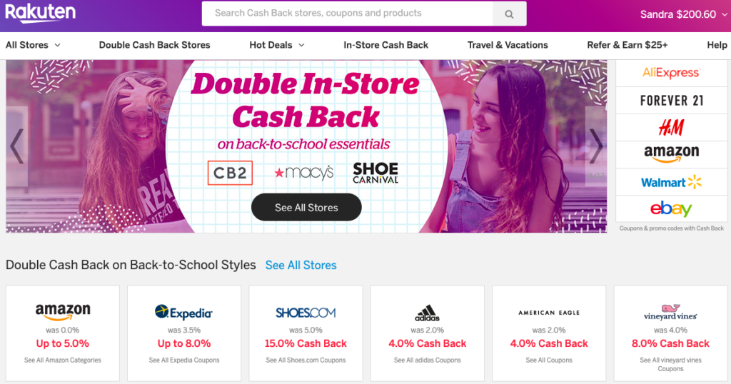 1 App and Website to Earn Money Back While Shopping - goWomanity